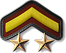 3 - Private First Class 2 Stars (PV3)